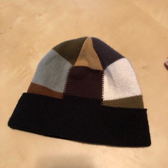 04592d3183d Colorblock snow stocking cap hat